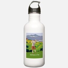 Personalized Golf Highlands Golfing Scene Stainles