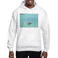 Carribean sailboat Hoodie