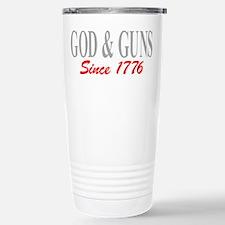 GOD and GUNS Travel Mug