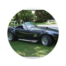 cobra sports car Ornament (Round)