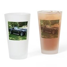 cobra sports car Drinking Glass