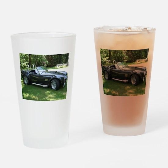cobra sports car Drinking Glass
