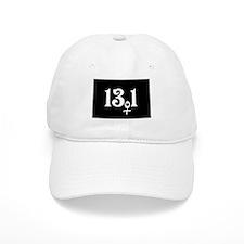 13.1 female runner Baseball Cap
