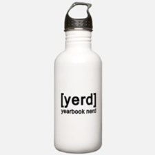 Yearbook Nerd - Yerd Water Bottle