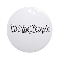 Cute We the people Ornament (Round)