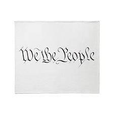 Cute Constitution Throw Blanket