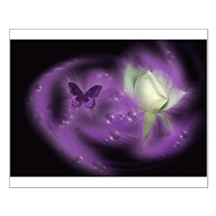 Purple Butterfly Posters