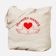 Hungry Hands Tote Bag