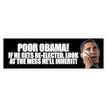Poor Obama Sticker (Bumper 10 pk)