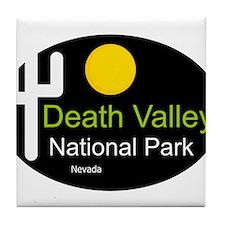 death valley national park Nevada Tile Coaster
