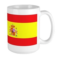 Spanish Flag spain yellow Mug