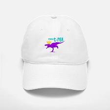 Princess T-Rex Baseball Baseball Cap
