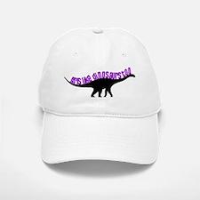 Girls Like Dinosaurs Too - Diplodocus Baseball Baseball Cap