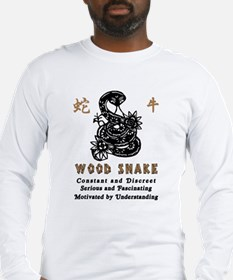 Year of The Wood Snake 1965 Long Sleeve T-Shirt