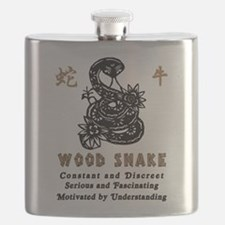 Year of The Wood Snake 1965 Flask