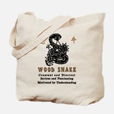 Year of The Wood Snake 1965 Tote Bag