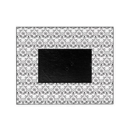Flourish Romantic Black\White Picture Frame