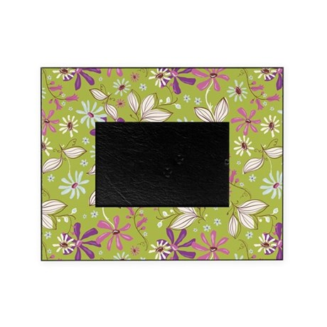 Flower Botanical Green Picture Frame