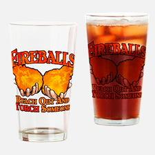 Fireballs Drinking Glass