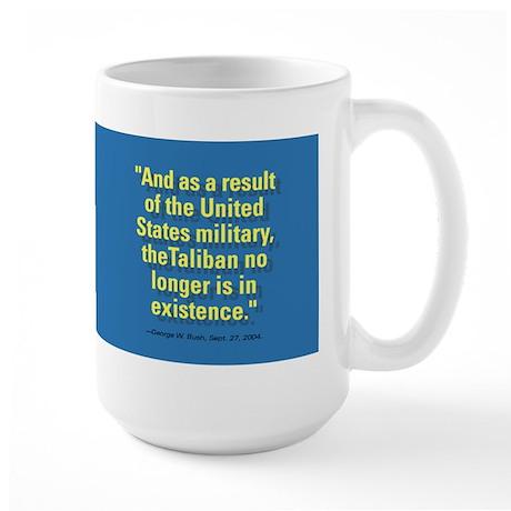 """""""Bush-O-Rama"""" Bushism Large Mug"""