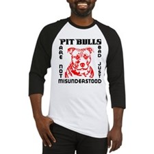 PIT BULLS ARE NOT BAD Baseball Jersey