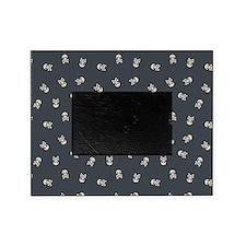 Skulls Simple Black Picture Frame