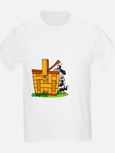 Ants Raiding a Picnic Basket T-Shirt