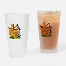 Ants Raiding a Picnic Basket Drinking Glass