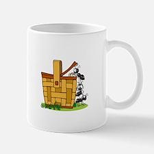 Ants Raiding a Picnic Basket Mug