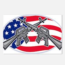 Armalite M-16 AR-15 Assault Rifle Postcards (Packa