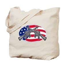 Armalite M-16 AR-15 Assault Rifle Tote Bag