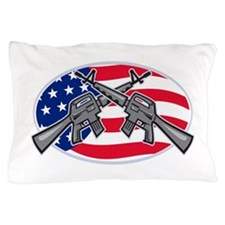Armalite M-16 AR-15 Assault Rifle Pillow Case