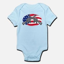 Armalite M-16 AR-15 Assault Rifle Infant Bodysuit