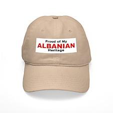 Proud Albanian Heritage Baseball Cap