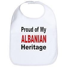 Proud Albanian Heritage Bib
