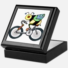Bee on a Bike Keepsake Box