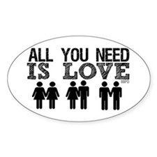 All You Need Is Love Decal