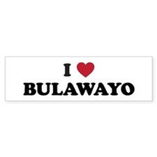 I Love Bulawayo Bumper Sticker