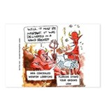 Stand Your Ground Law Enters Hell Postcards (Packa