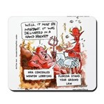 Stand Your Ground Law Enters Hell Mousepad
