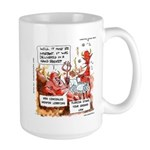 Stand Your Ground Law Enters Hell Large Mug