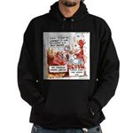 Stand Your Ground Law Enters Hell Hoodie (dark)