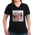 Stand Your Ground Law Enters Hell Women's V-Neck D