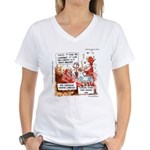 Stand Your Ground Law Enters Hell Women's V-Neck T