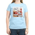 Stand Your Ground Law Enters Hell Women's Light T-