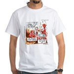 Stand Your Ground Law Enters Hell White T-Shirt