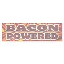 Bacon Powered Bumper Sticker