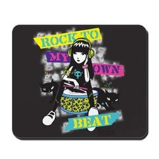 Rock To My Own Beat Mousepad