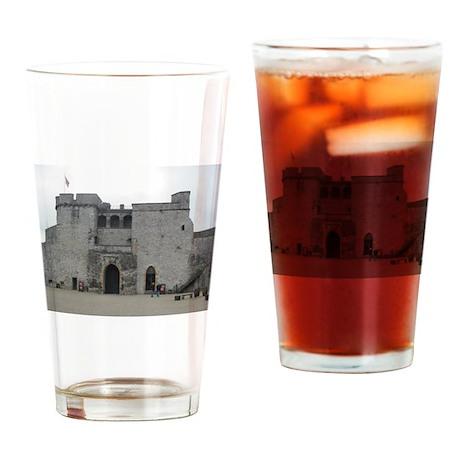 King John Castle Drinking Glass