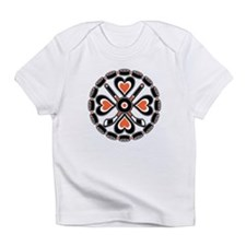 Philly Orange and Black Hex Infant T-Shirt